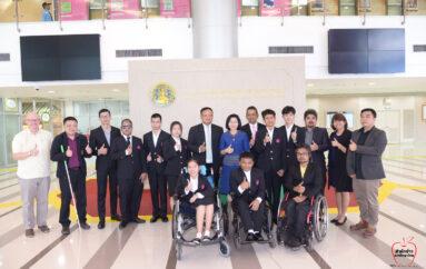 พก. ชวนคนไทยส่งใจเชียร์ ผู้แทนเยาวชนพิการไทย ร่วมแข่ง IT Challenge