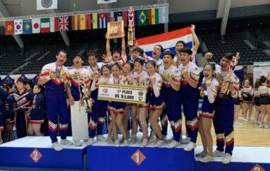 เชียร์ลีดดิ้ง ทีมไทยแลนด์ คว้าแชมป์โลก ปี 2019