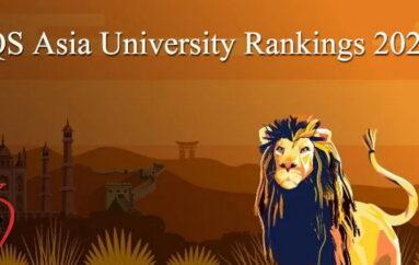 """QSจัดอันดับมหาวิทยาลัยเอเชีย2020 """"จุฬาฯ""""ยังครองที่1ของไทย """"NUS""""ของสิงคโปร์ดีที่สุดในเอเชีย"""