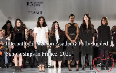 ทุนเรียนแฟชั่นฟรีที่IFA Paris