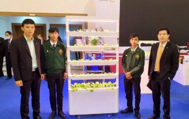 เด็กอาชีวะเกษตรแพร่เรียนรู้เทคโนโลยีฝึกปลูกพืชในร่มตอบโจทย์เทรนด์วิถีชีวิตเกษตรสมัยใหม่